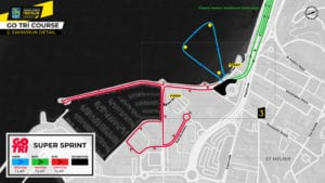 Age Group Swim/Run Course Details