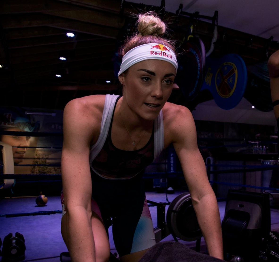 Lucy Charles-Barclay Super League Triathlon SLT Arena Games Powered by Zwift